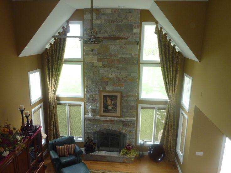 Beautiful Two Story Solution Window Treatments Pinterest