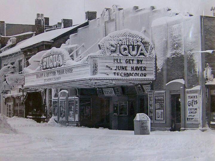 the theater in piqua piqua ohio pinterest