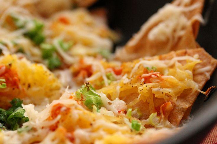 Spaghetti Squash Nachos | Recipes | Pinterest