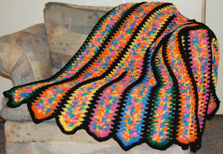 Crochet Afghan Patterns Mile A Minute : Mile a minute afghan Mile a Minute Afghans Pinterest