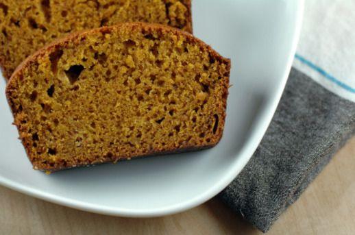 The Crisper Whisperer: Olive Oil Pumpkin Bread// too much sugar, but ...