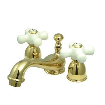 Mini Widespread Lavatory Faucet - 4 - 8 Inch Adjustable Spread ...