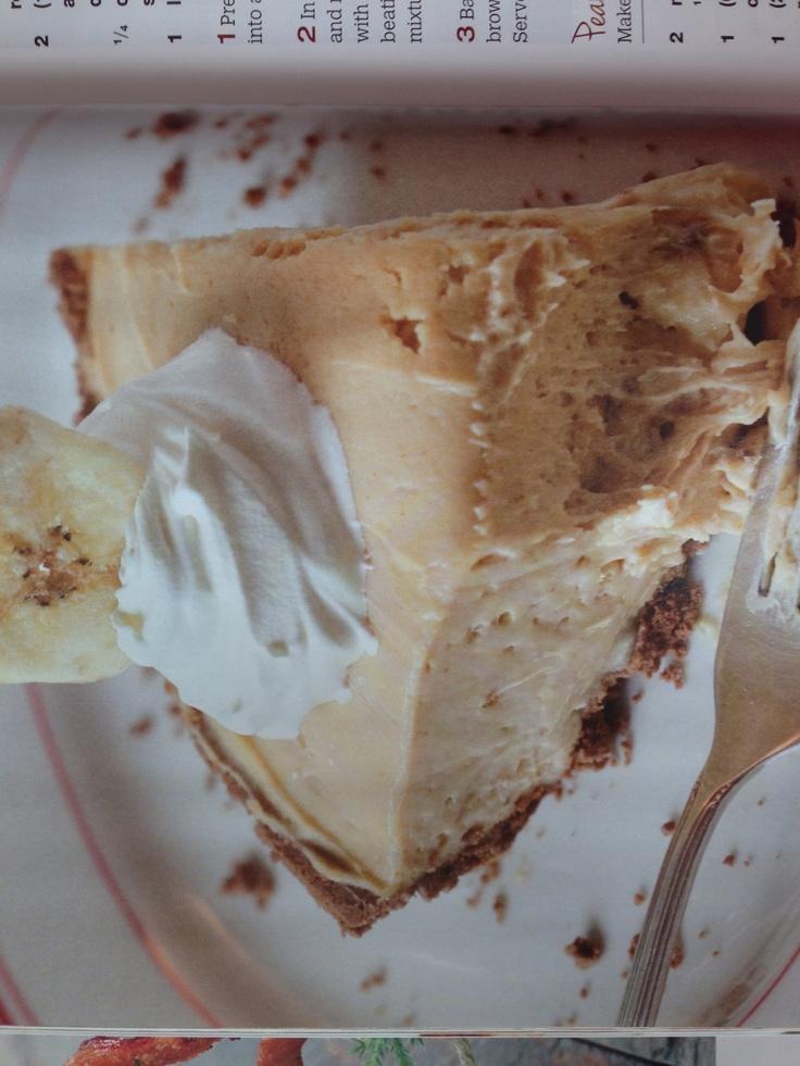 Peanut Butter Banana Pie | Nom Nom Nom | Pinterest