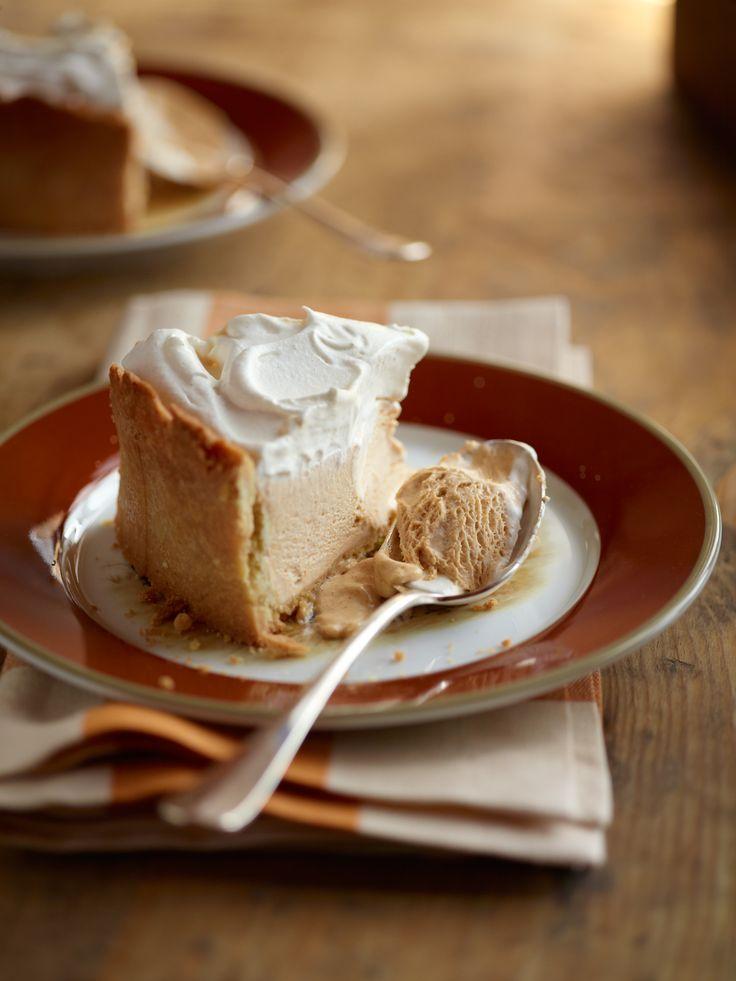Pumpkin Pie Ice Cream Pie // Diana Rattay