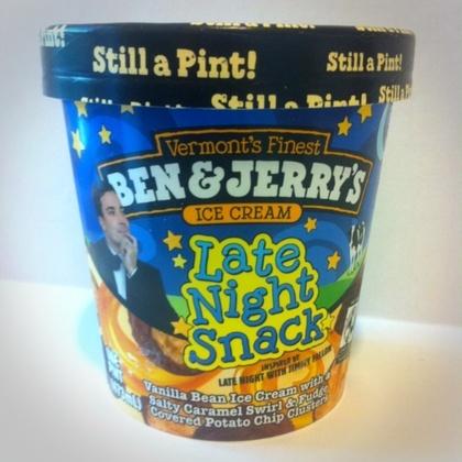 Jimmy Fallon's Late Night Snack Ice Cream Cake Recipes — Dishmaps