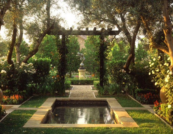 Reflecting pool indoor outdoor gardening pinterest for Garden reflecting pool