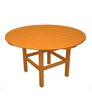 Found On Zulily Tangerine Orange Kids Dining Table Zulilyfinds