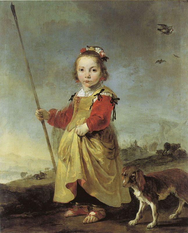 Jan Baptist Weenix, Girl as Shepherdess c. 1650 - Musée de Picardie, Amiens