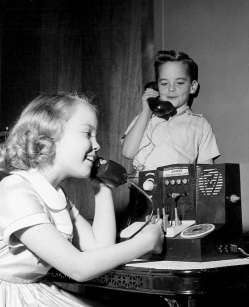 Electronic switchboard toy, 1955.