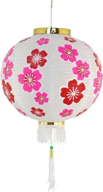 ... met vrolijke bloemen #kinderkamer  Lamp #kidsroom #nursery #flowers