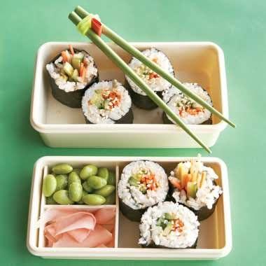 Veggie Sushi Rolls | Recipe