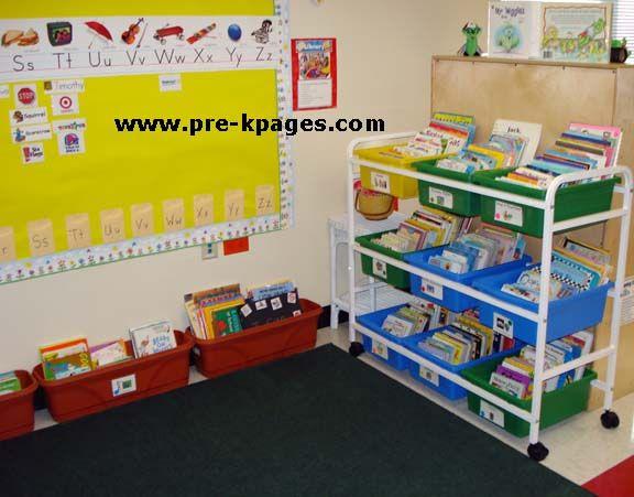 Classroom Library Ideas : Classroom library center