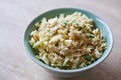 Celery root salad recipe, also known as celery remoulade, with celery ...