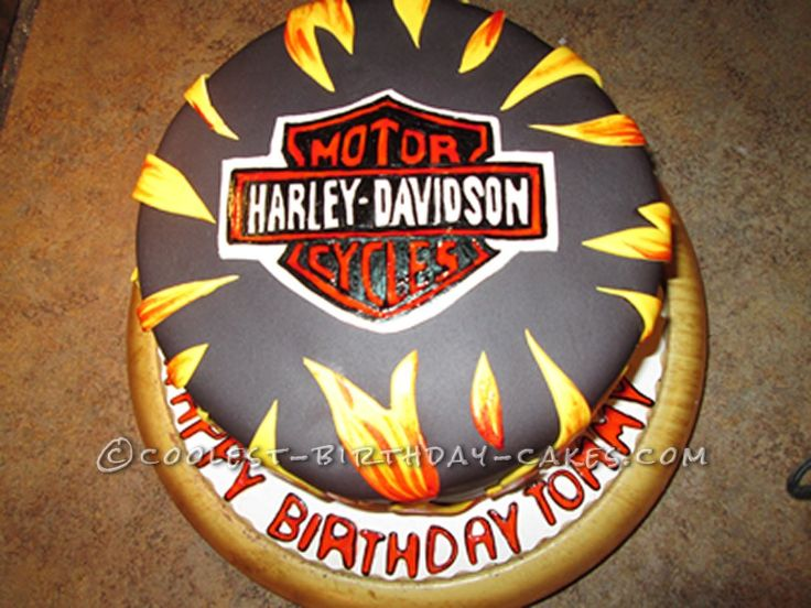 ... Harley Davidson Cake... This website is the Pinterest of birthday cake