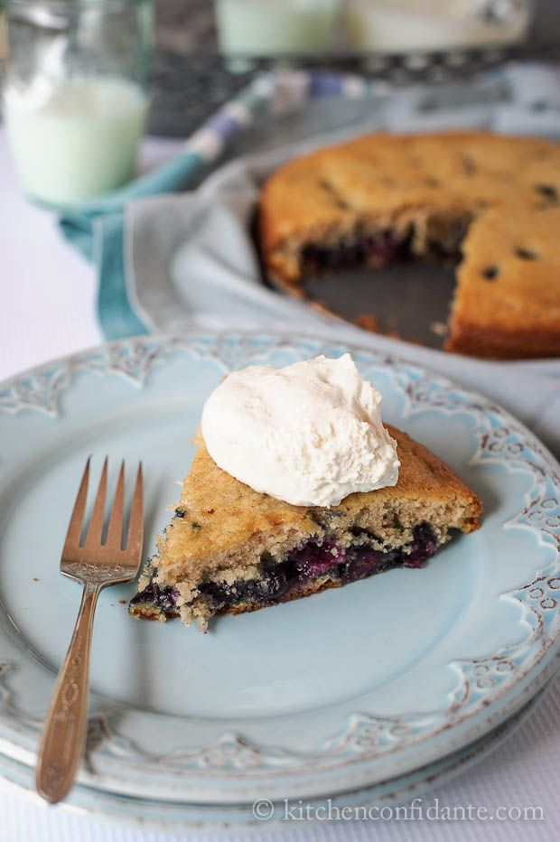 Simple Sundays | Blueberry Buttermilk Cake