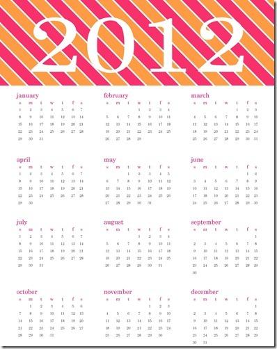 Year At A Glance Calendar | Home Management Binder | Pinterest
