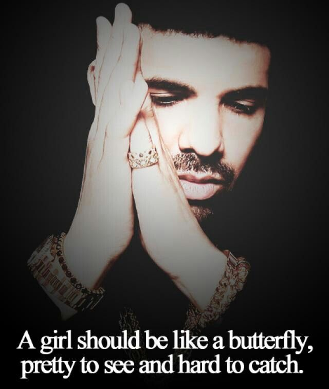 a girl should be like a butterfly pretty to see hard to