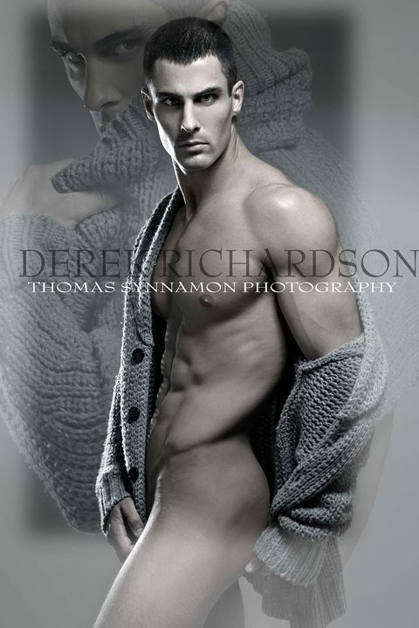 Male Model Derek Richardson