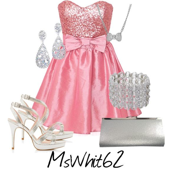 """Pretty In Pink Prom Night"" by mswhit62 on Polyvore"