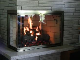 GRAY FIREPLACE DESIGN IDEAS, PICTURES, REMODEL AND DECOR