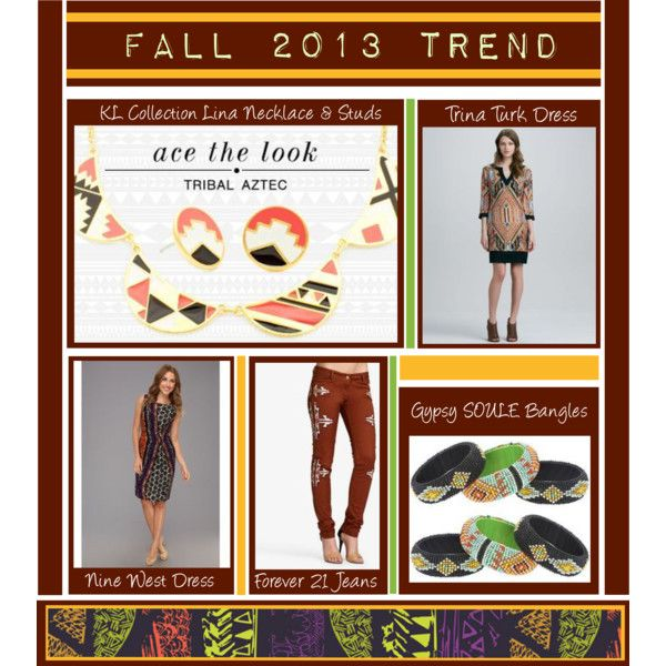 """Ace The Look : Tribal Aztec"" by latoyacl on Polyvore"