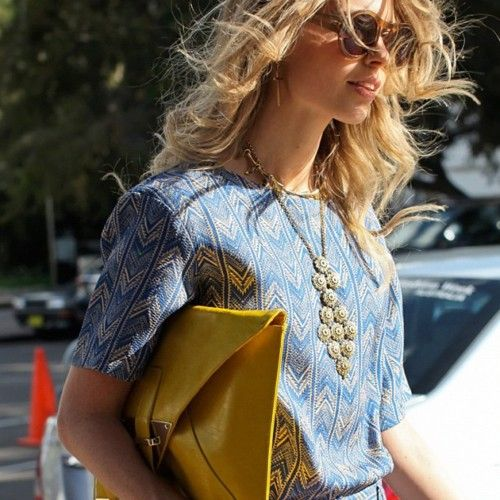 On the streets... Australia Fashion Week #streetstyle #mbfwa