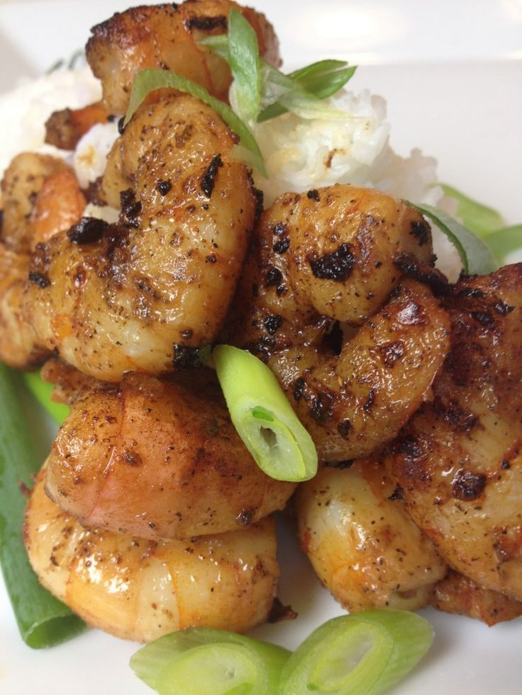 Classic Dry-Fried Pepper and Salt-Shrimp | recipes | Pinterest