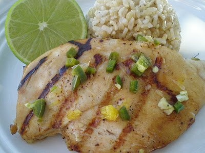 Grilled Margarita Chicken | Chicken again? | Pinterest