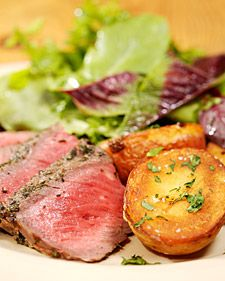 Grilled Sirloin Steak with Herbs | Recipe