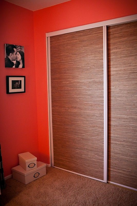 Pin By Teri Elliott On For The Home Pinterest How To Update Sliding Closet  Doors