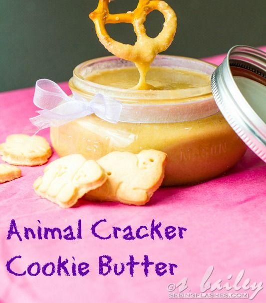 Animal Cracker Cookie Butter