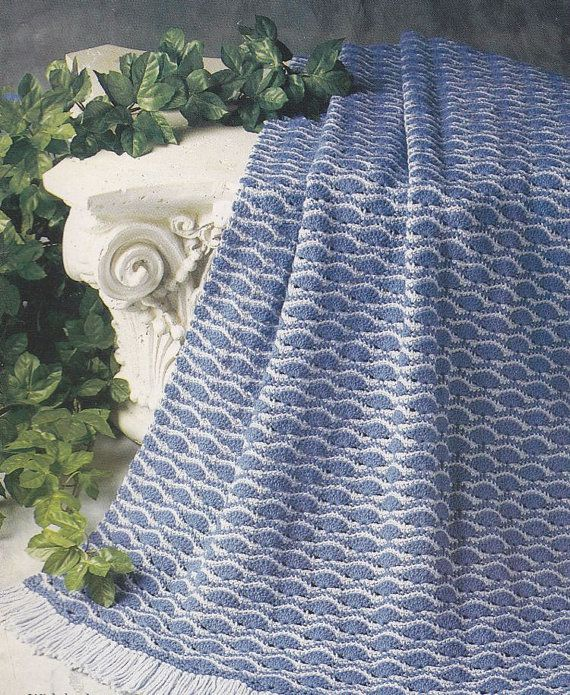 Crochet Patterns Wave Afghan : crochet patterns