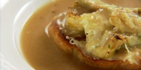 Roasted Garlic Soup and Artichoke Croutons.....Season...2 ...