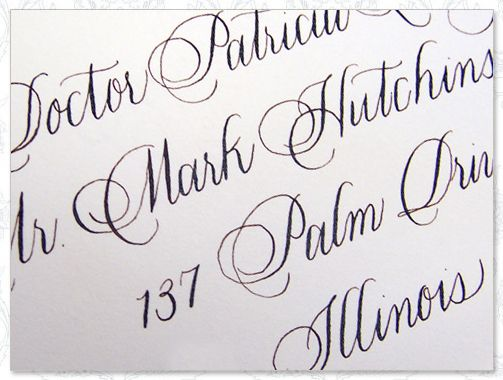 Calligraphy By Laura Hooper Wedding Ideas Pinterest
