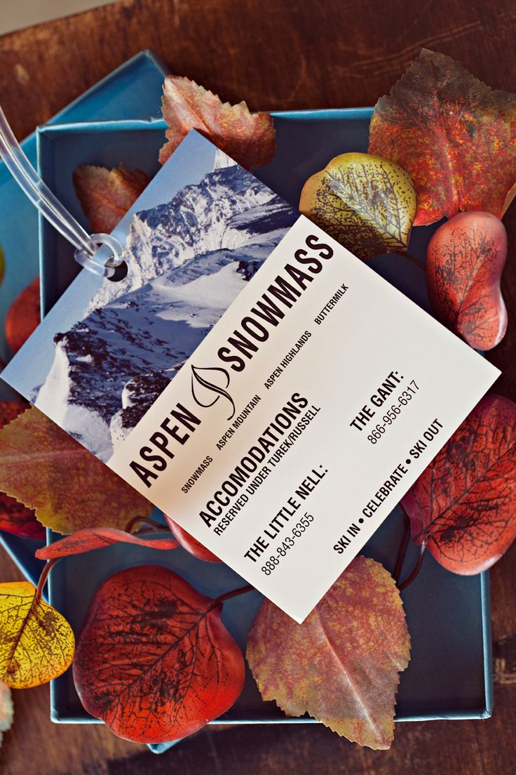 Save the dates to look like ski tickets or details sheets for out