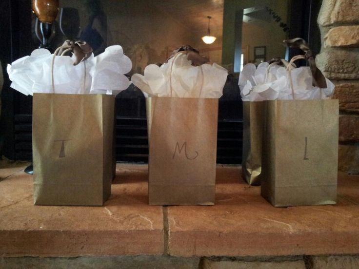 Gift bags for my girlfriends girlfriends getaway pinterest