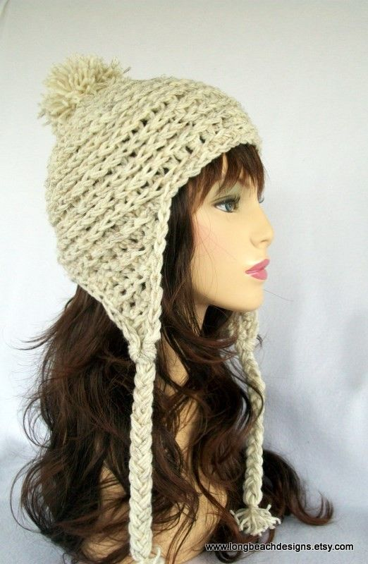 crochet pattern Breckenridge Earflap Hat for women and ...
