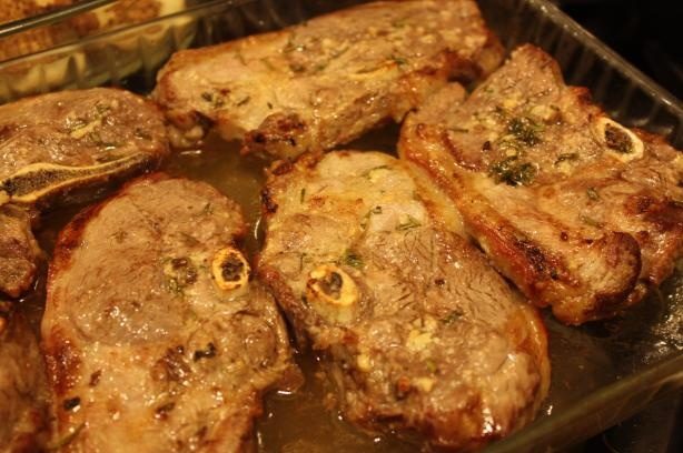 Herb-Roasted Lamb Chops Recipes — Dishmaps