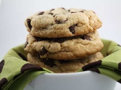 Big, Fat, Chewy Chocolate Chip Cookies | Recipes - Cookies, bars | Pi ...