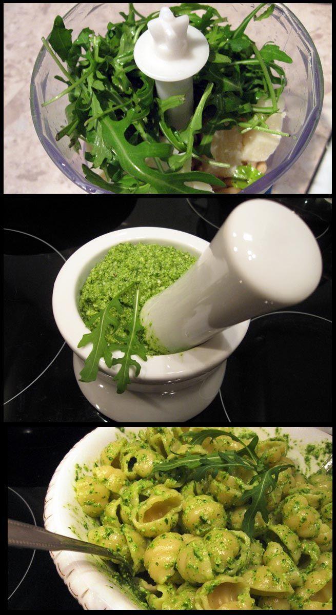 Arugula Pesto | Favorite Recipes | Pinterest