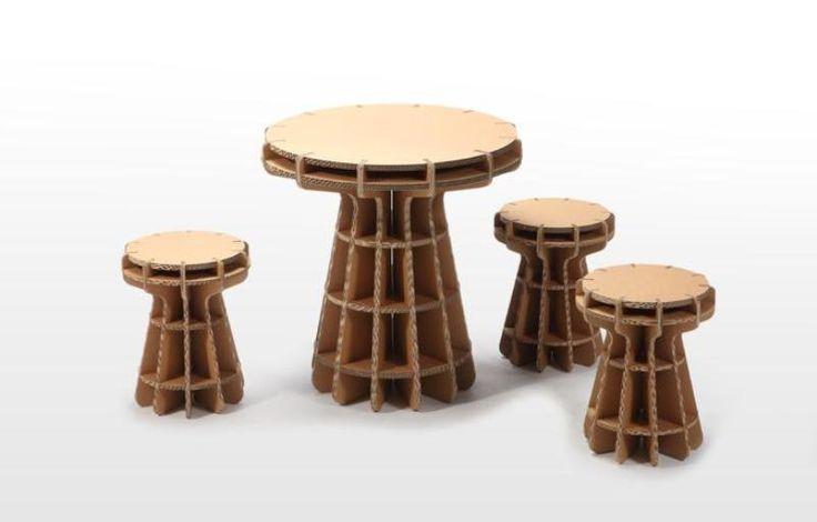 Tsuchinoco kids muebles y juguetes de cart n monkeyzen - Muebles de carton ...