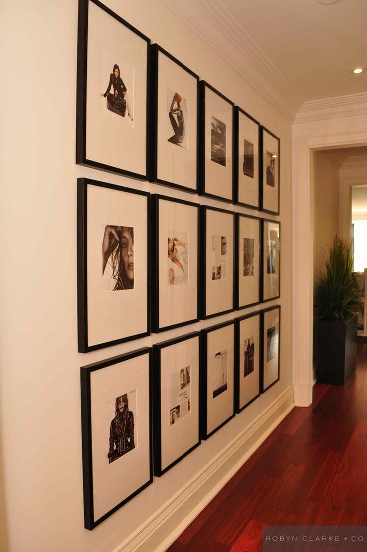 Hallway gallery wall ideas home print ideas pinterest