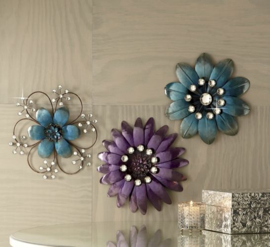 Mod Squad Crystal Flower Art from Ginny's ®