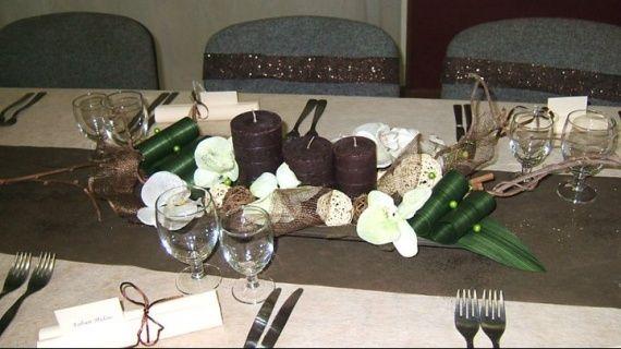Déco table dhonneur  Déco table mariage  Pinterest