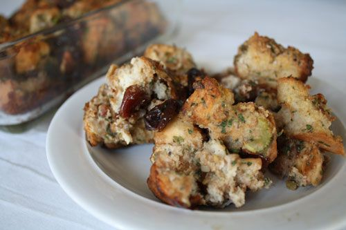 Cherry and Pecan Stuffing | Sides | Pinterest