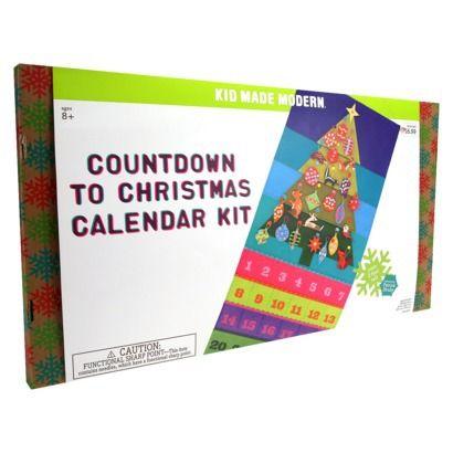 Kids Made Modern Advent calendar | kids crafts | Pinterest