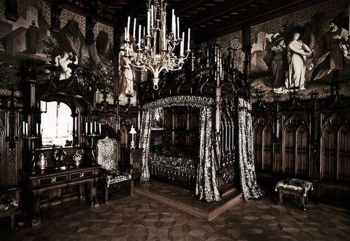 Gothic Bedroom My Bedroom Pinterest