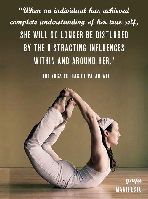Yoga quote Health & Wellness Pinterest