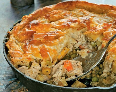 Chicken Pot Pie #food #foodies #dinner #meals #recipes #salad #entree ...