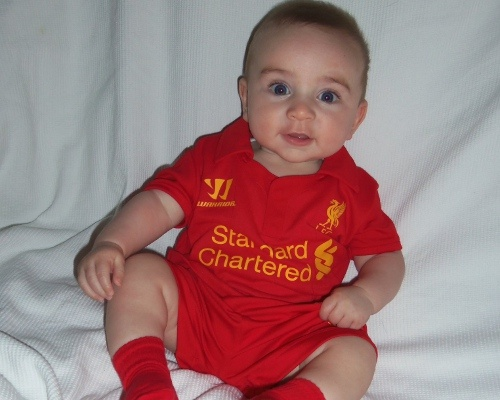 Babies Liverpool Fc And Liverpool On Pinterest